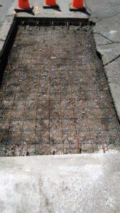 concrete_sidewalk_work_before